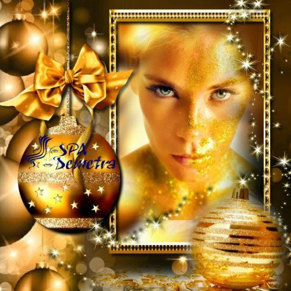 СПА пакет за Коледа: Златна терапия за лице