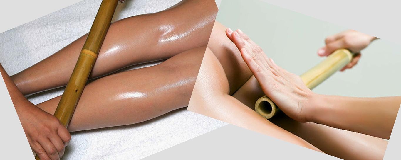 Антицелулитен масаж с багети