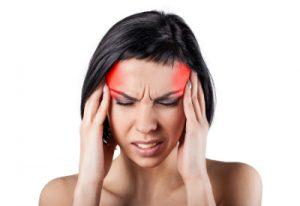 Масаж с Кислород, Облекчава главоболието.