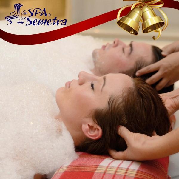 Коледен ваучер за Турски масаж за двама
