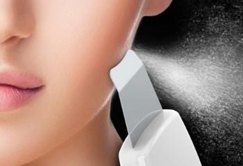 Ултразвуково почистване на лице