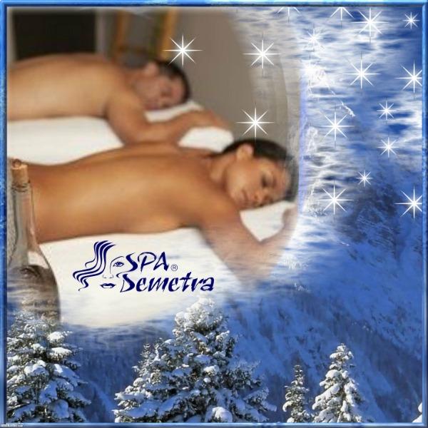 Анти-стрес масаж за двама Коледен ваучер