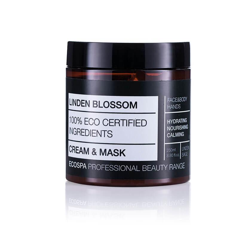 Крем-маска Липов цвят за лице и тяло на Eco Spa