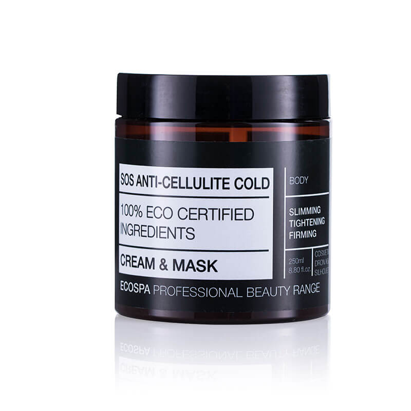 Охлаждаща антицелулитна маска на Eco Spa – 250мл