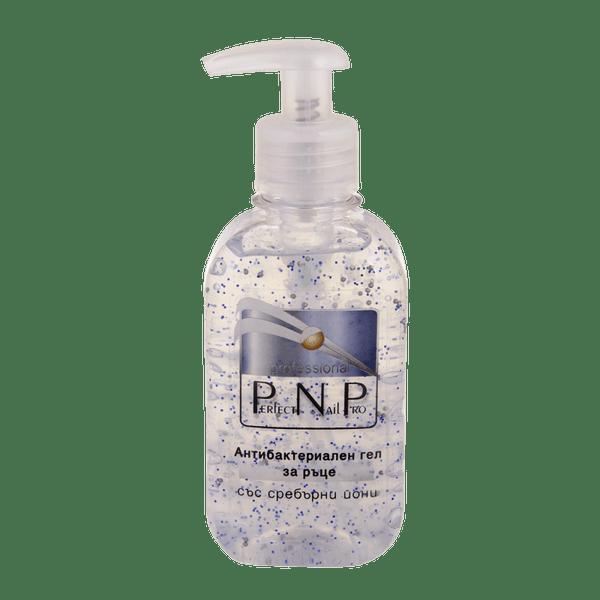 PNP почистващ гел за ръце със сребърни йони