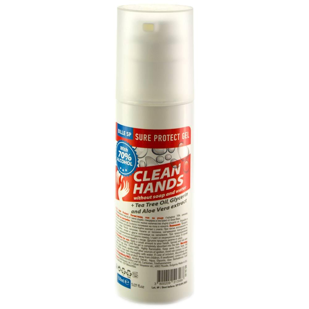 Bille Clean Hands дезинфектант за ръце
