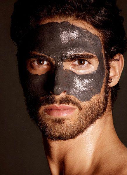 Кална маска за лице-Специална грижа за лице за силния пол