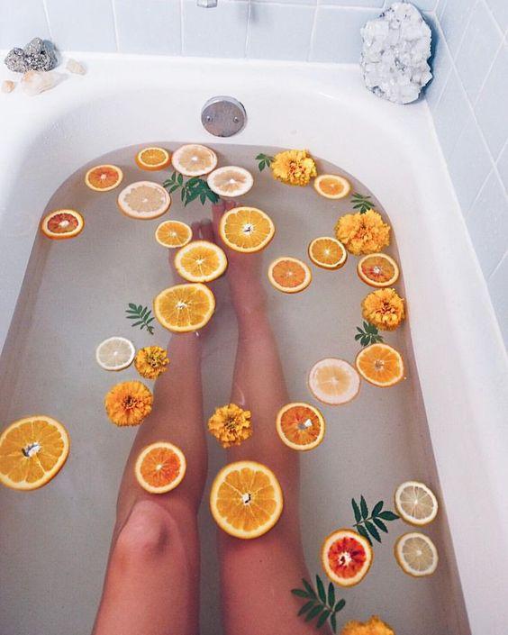 Вана с портокалов аромат