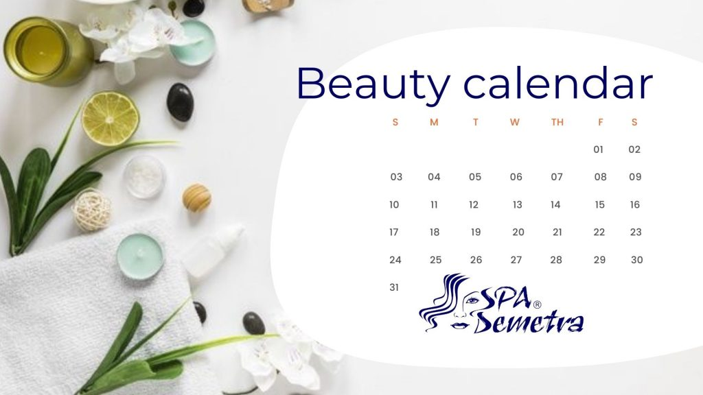 beauty calendar