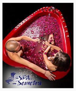 Луксозна вана за двама